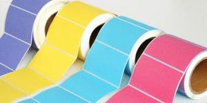 彩色空白标签纸