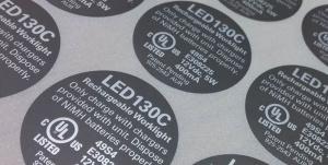 电器标签标贴